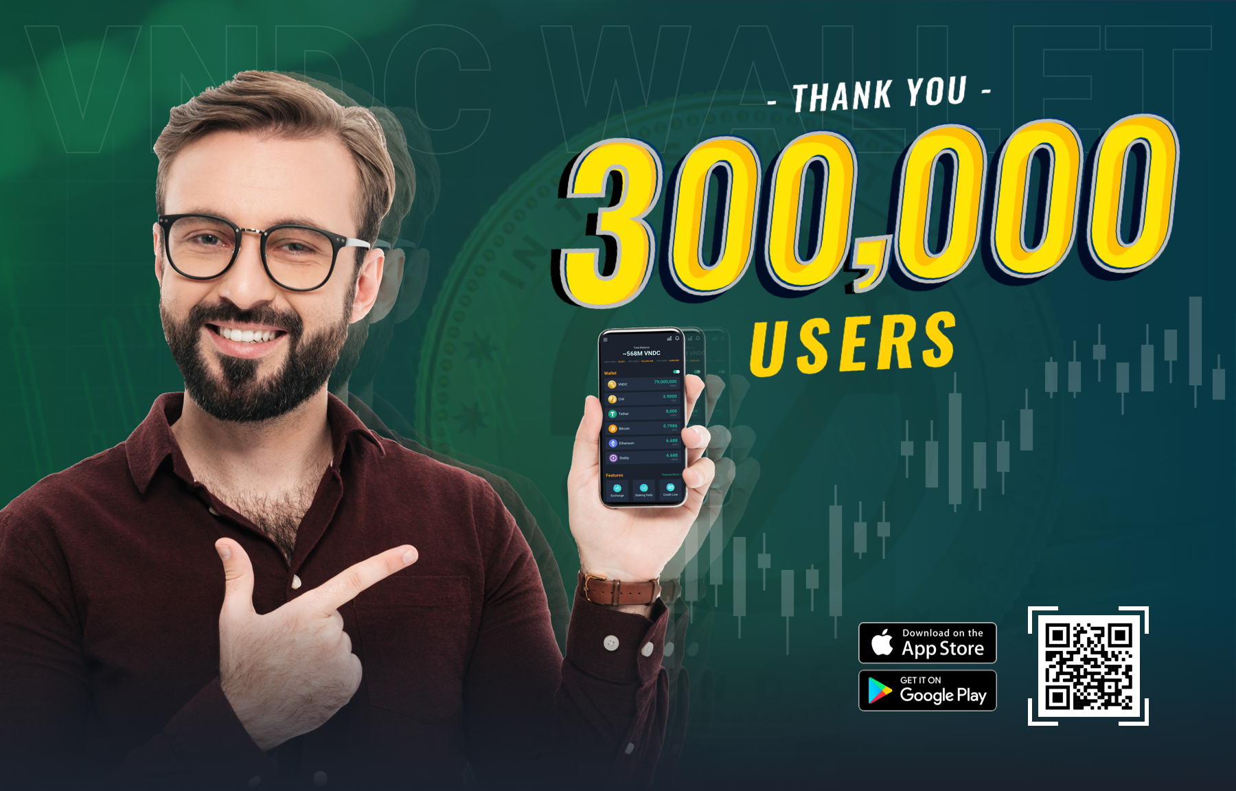 VNDC hits over 300,000 users