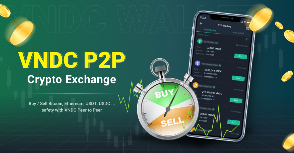 VNDC official launch the peer-to-peer crypto exchange