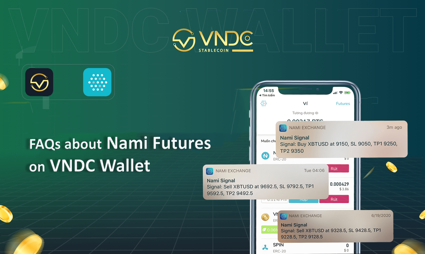 FAQ about investment with Nami Futures on VNDC Wallet