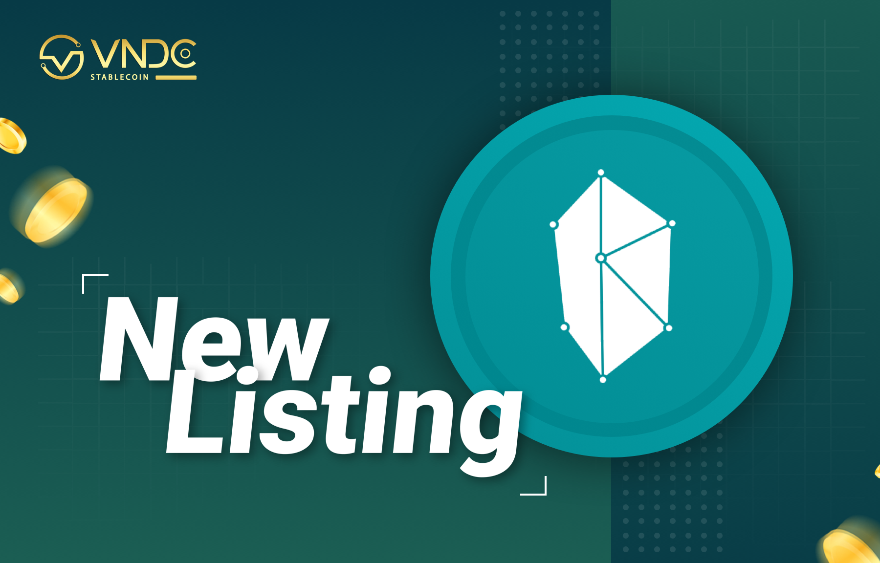 Kyber Network (KNC) officially listed on VNDC Wallet App
