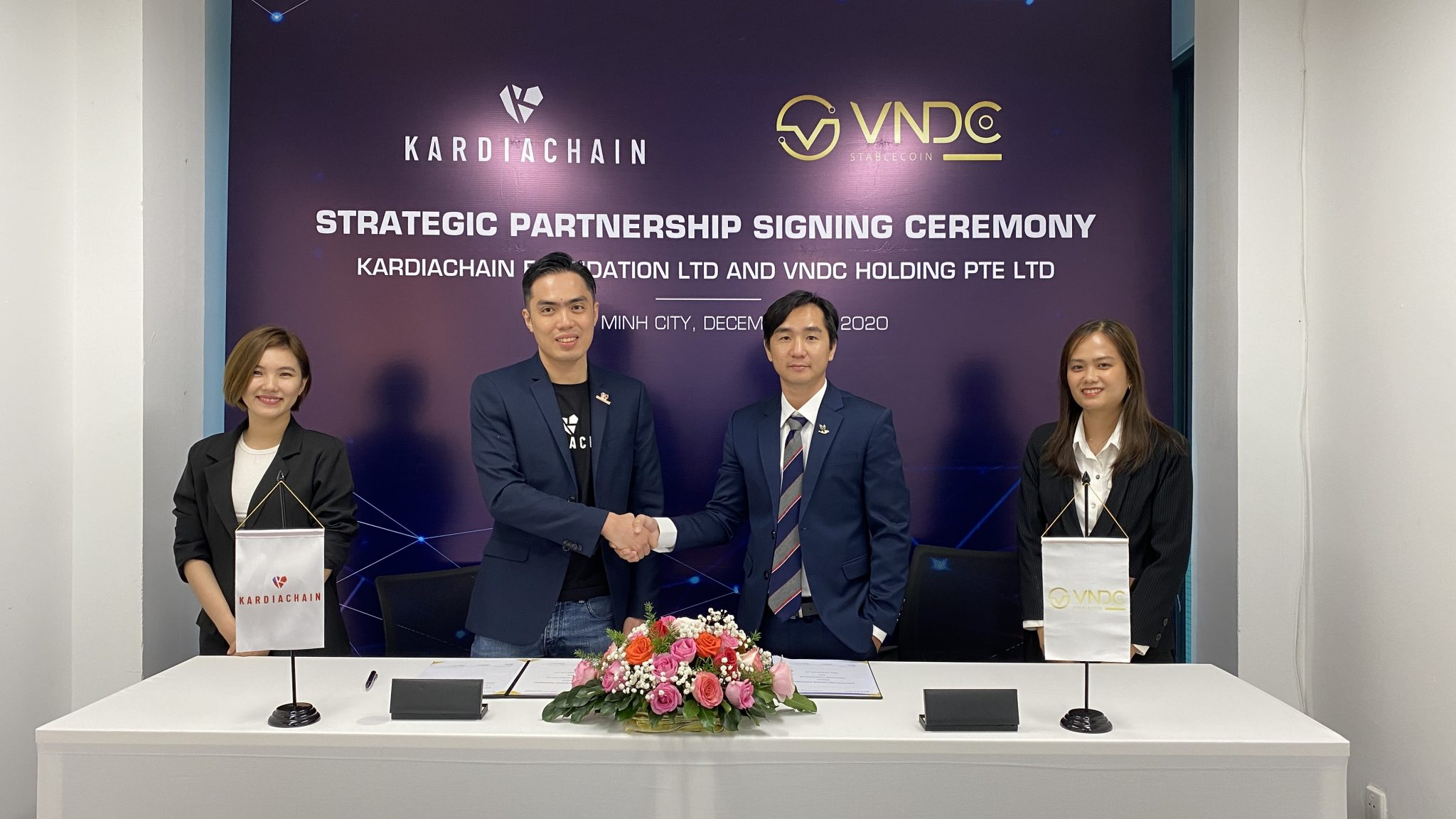 VNDC Issues Vietnam Most Prominent Stablecoin on KardiaChain