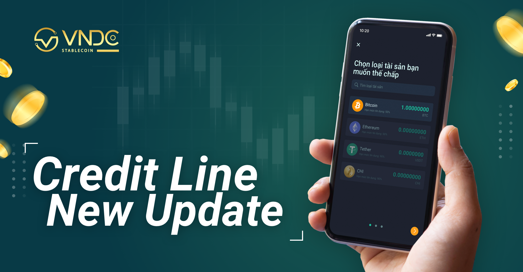 Announcement: Credit Line Update New Version
