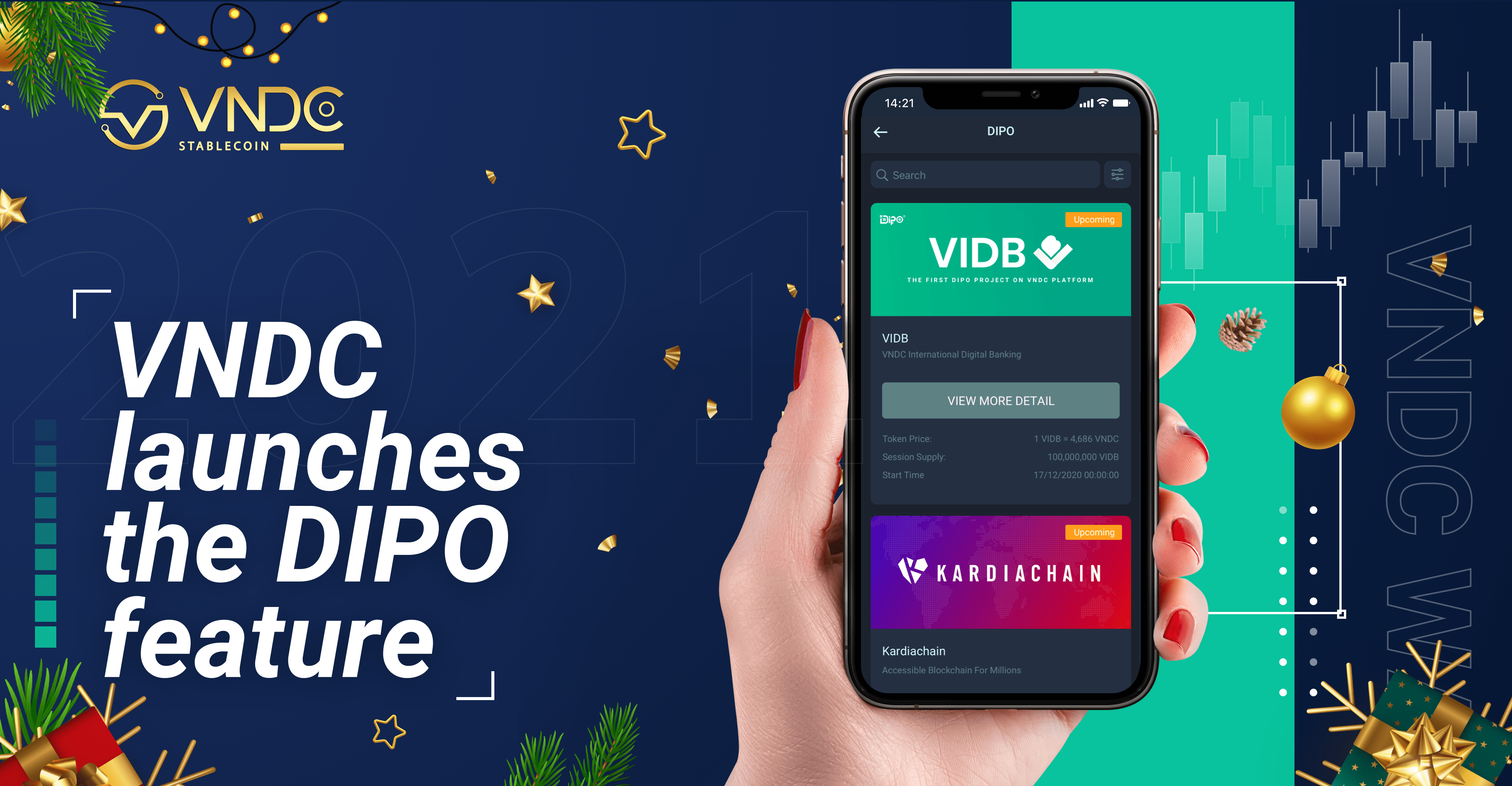 VNDC launches the DIPO feature, supporting new projects