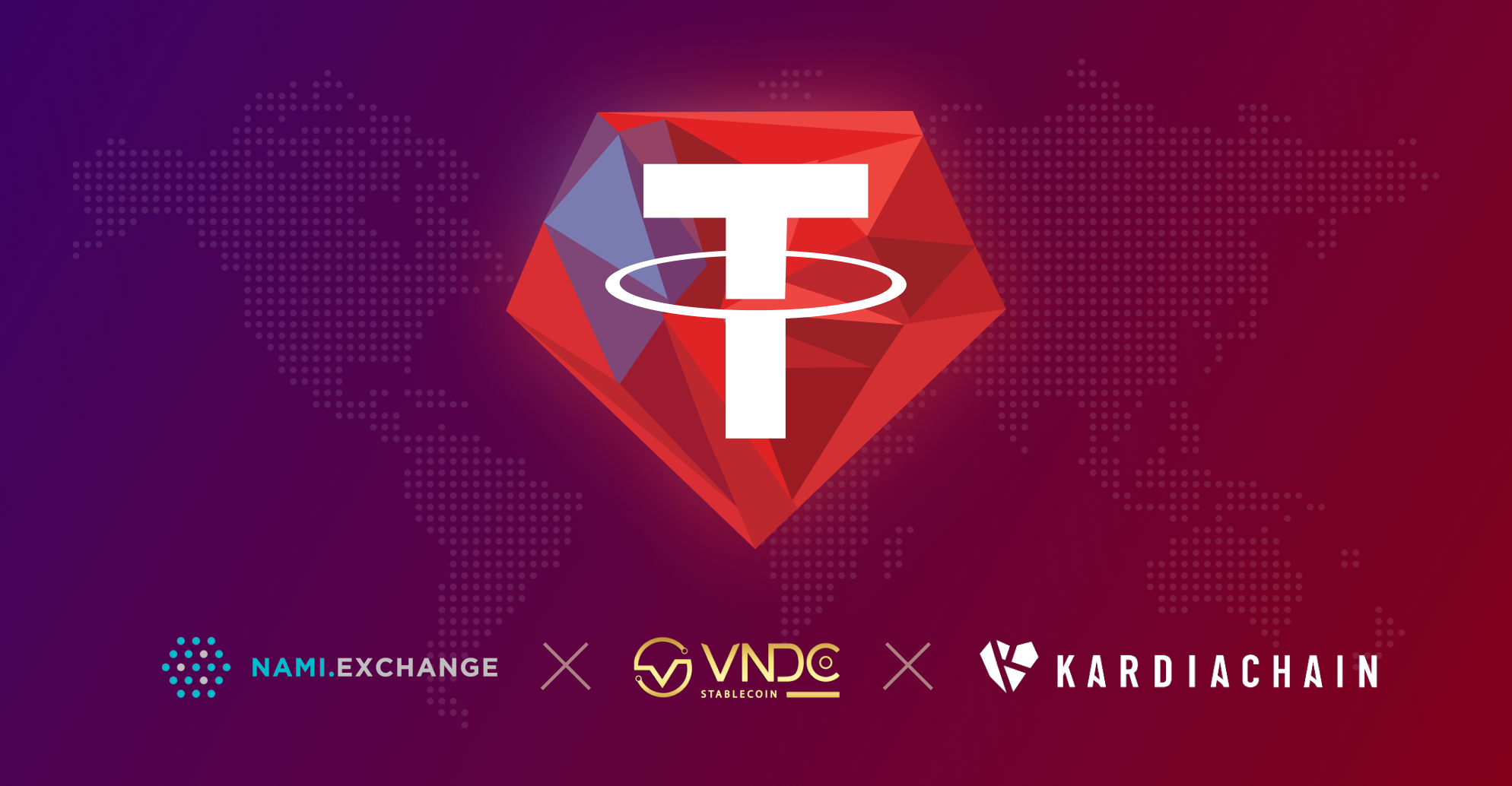 VNDC, NAMI and KardiaChain collaborate to launch KUSD-T on KRC20 platform