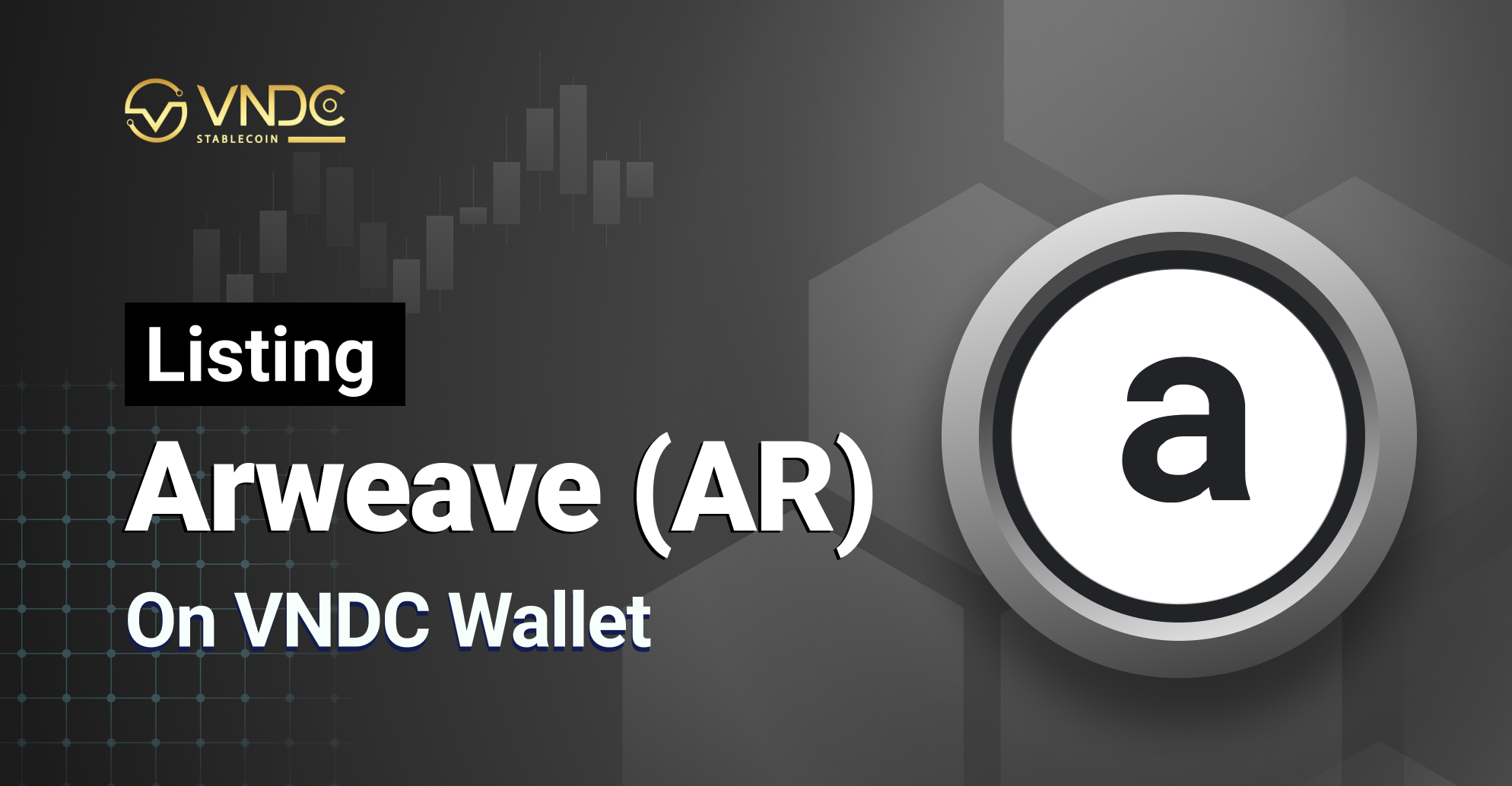 Listing Arweave (AR) on VNDC Wallet
