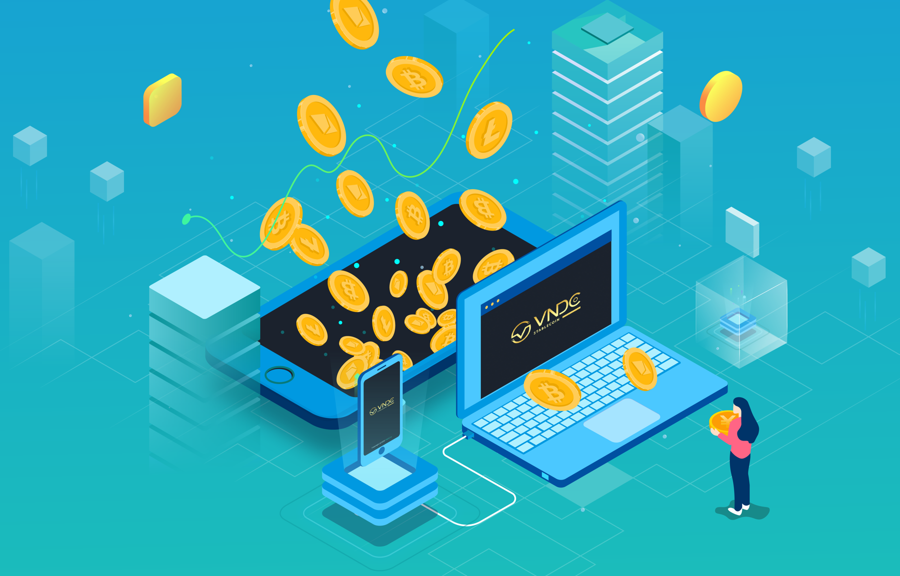 Thử nghiệm mô hình ngân hàng tài sản số (Digital Asset bank)
