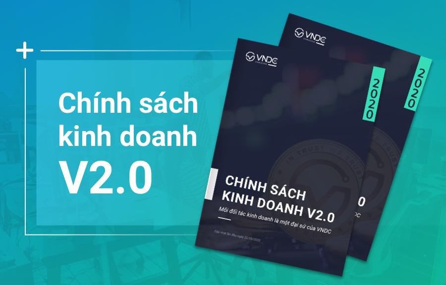 VNDC công bố chính sách đối tác kinh doanh 2.0