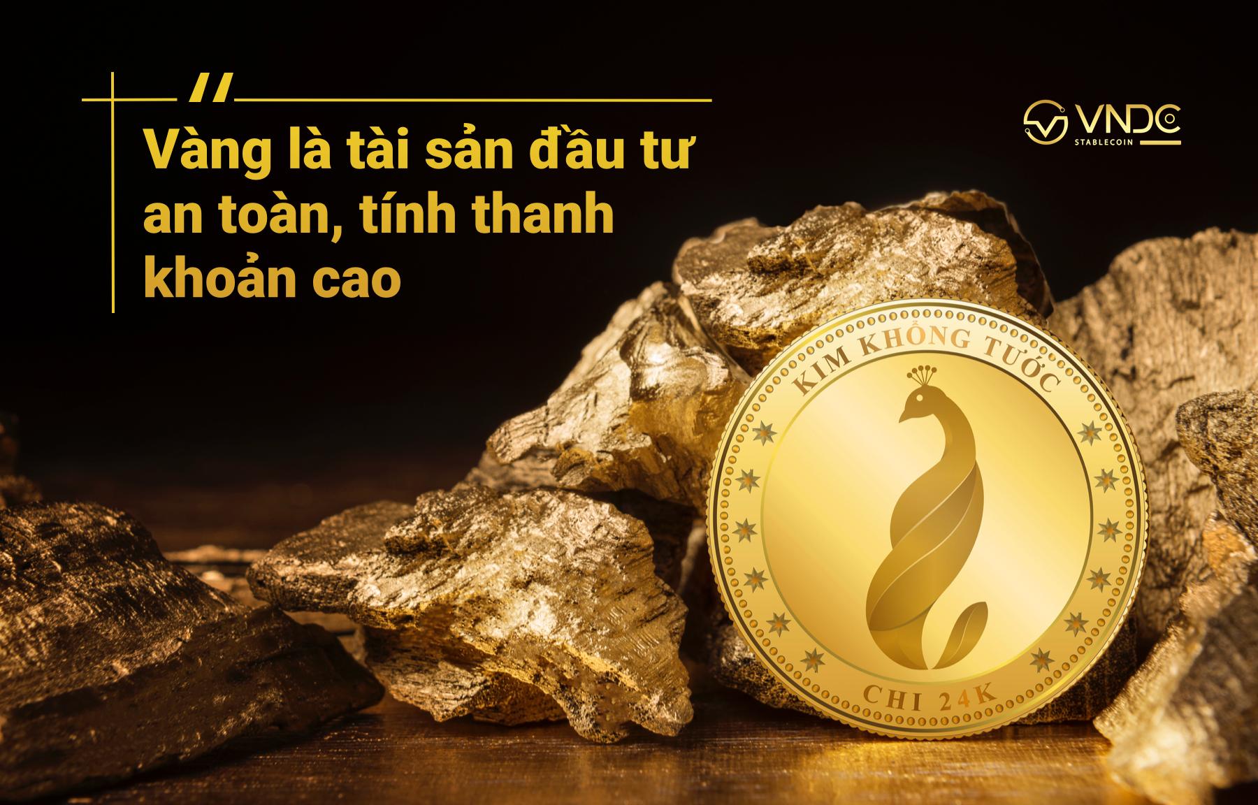 vàng mã hóa