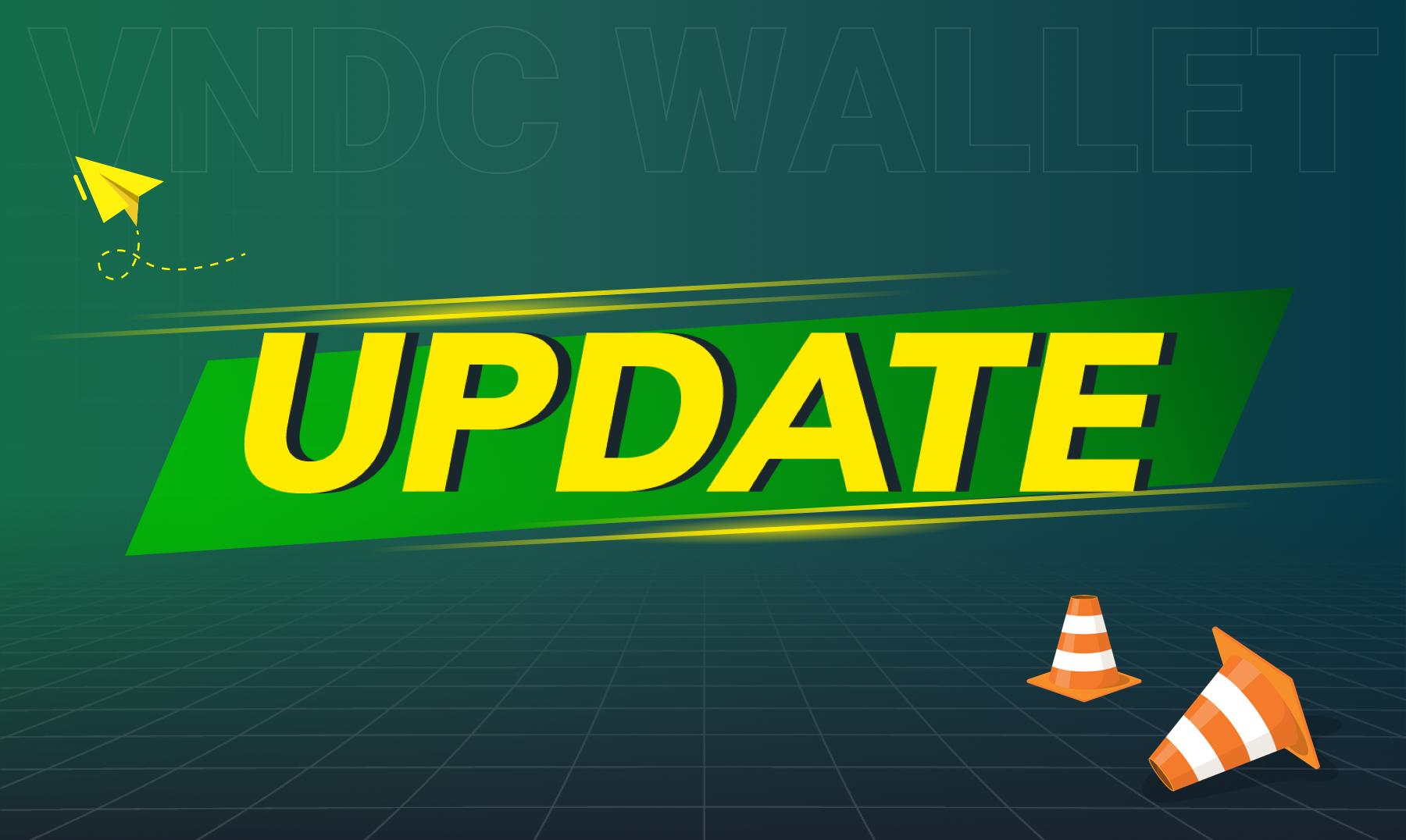 Thông báo: Thay đổi địa chỉ ví Ethereum trên VNDC Wallet (quan trọng)
