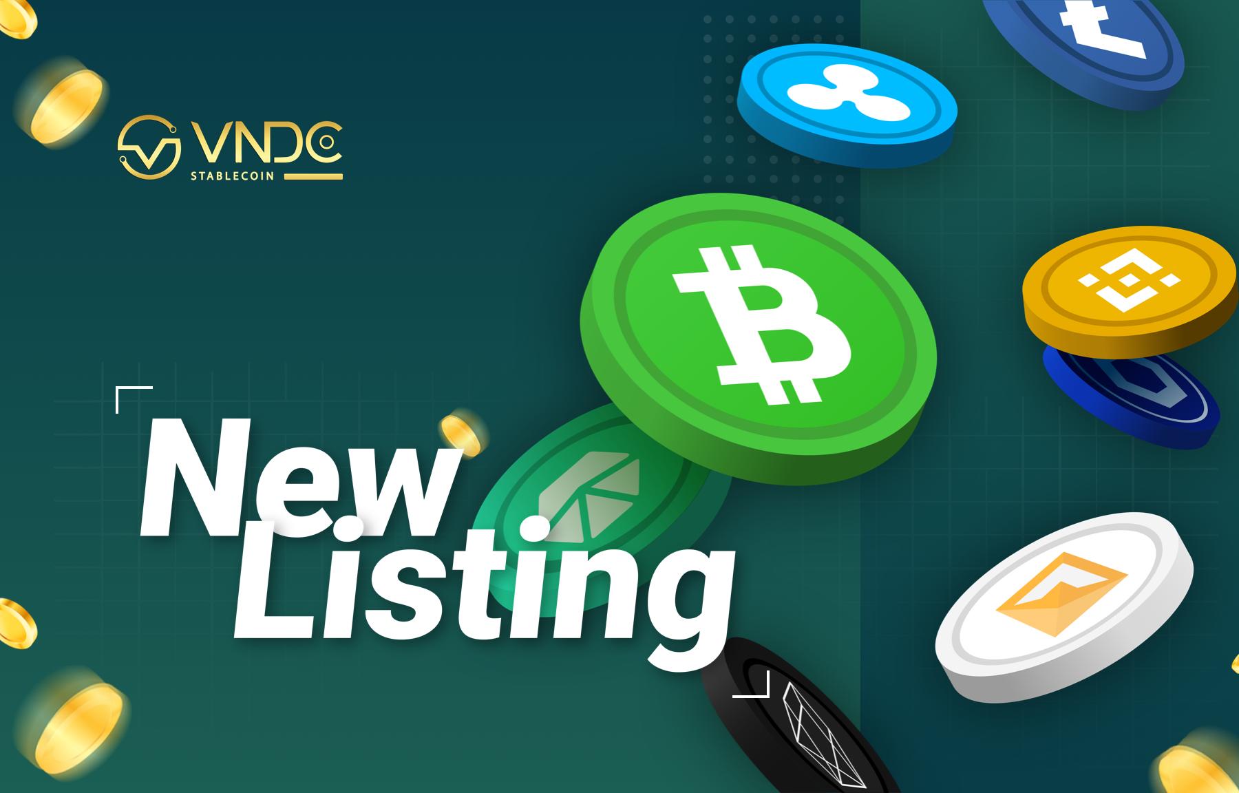 VNDC tiếp tục hỗ trợ nhiều loại tài sản số (Altcoin) cho nhà đầu tư
