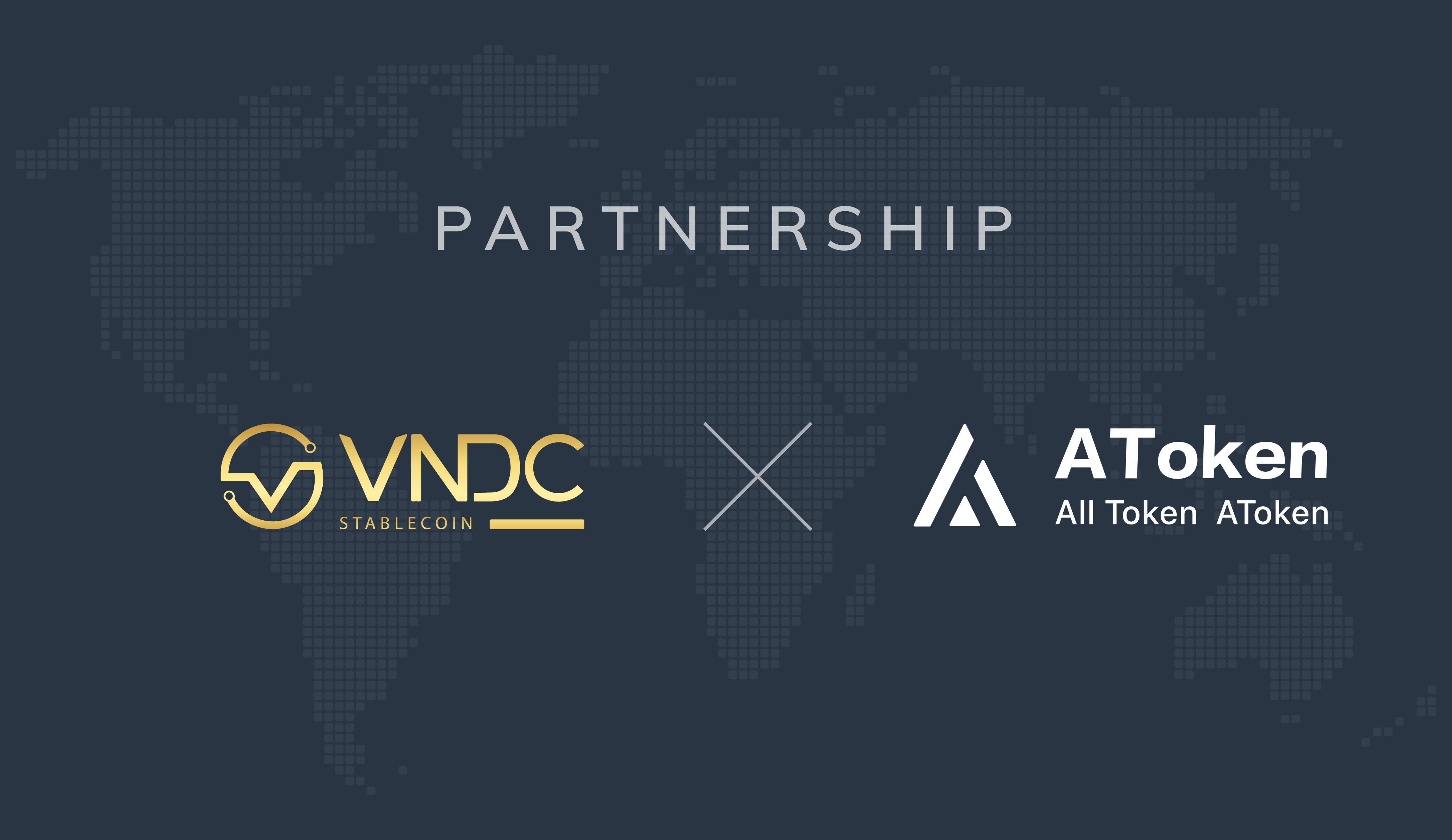 VNDC đã sẵn sàng sử dụng trên AToken Wallet