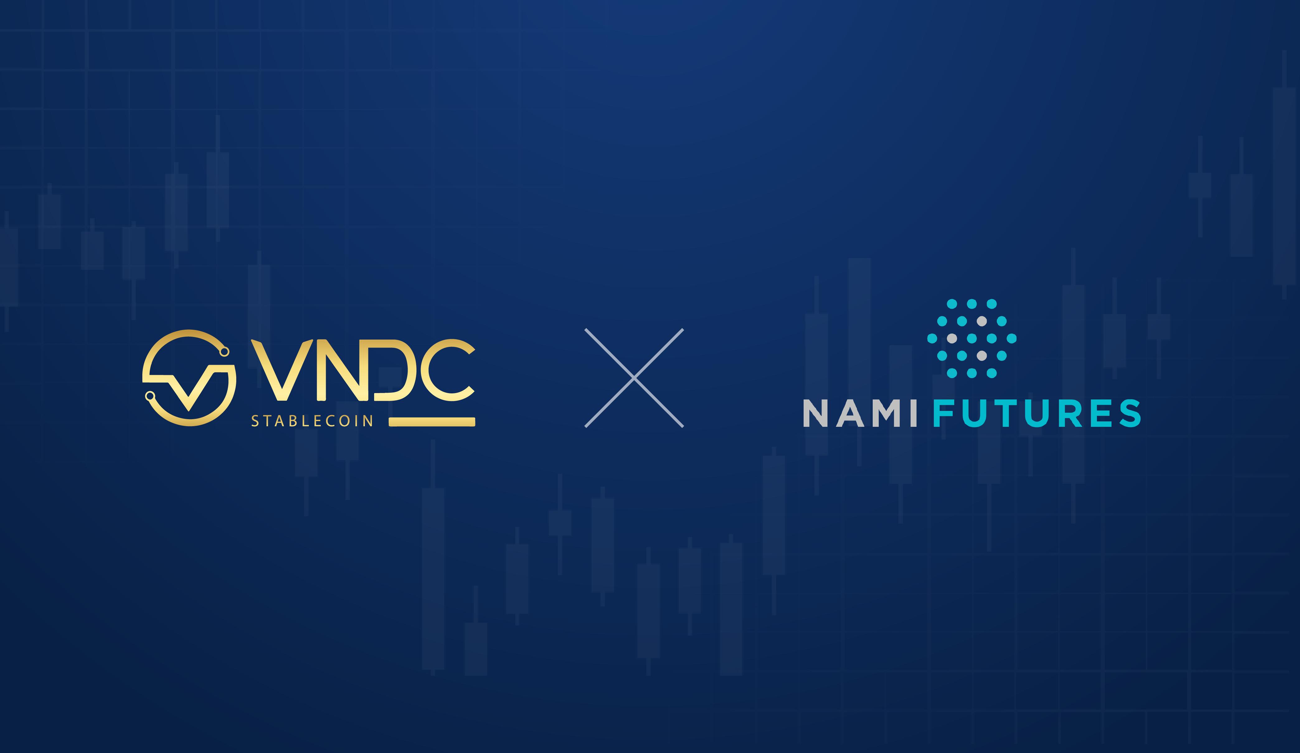 Giao dịch đòn bẩy x125 với VNDC trên Nami Futures