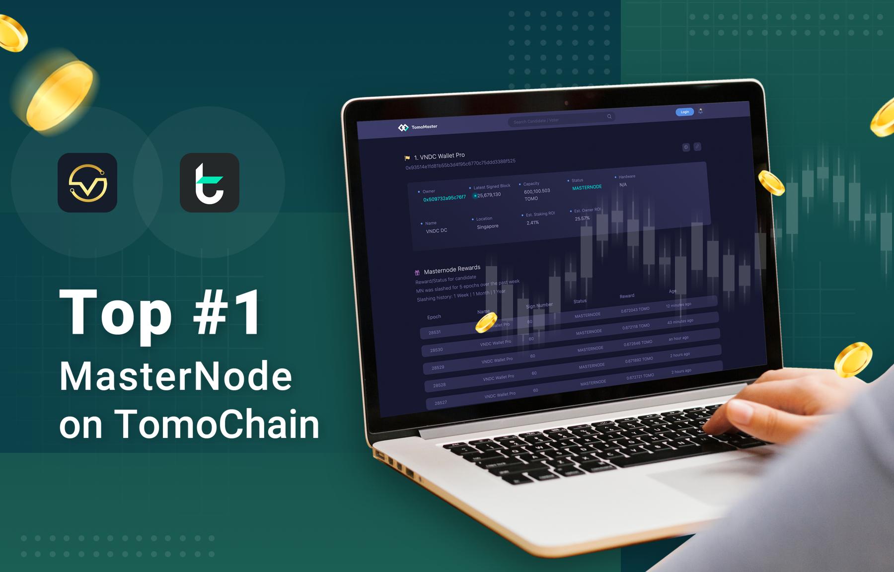 VNDC đã triển khai MasterNode trên nền tảng TomoChain