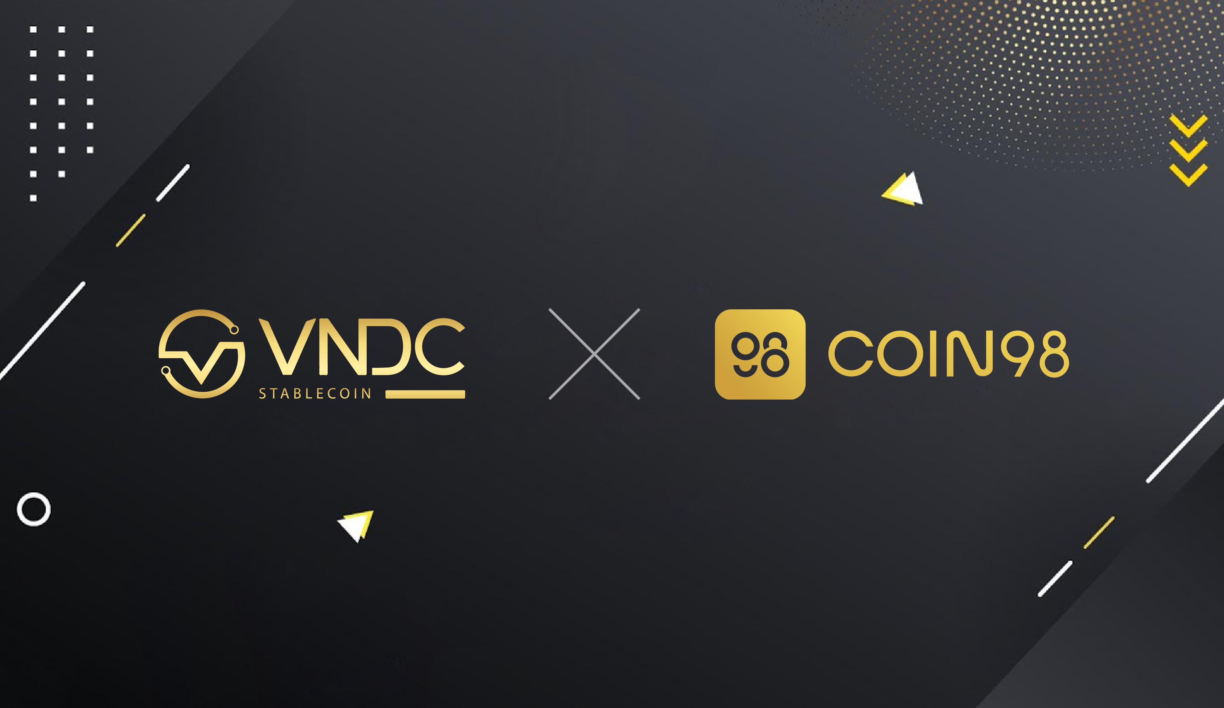 VNDC chính thức được niêm yết trên Coin98 Wallet