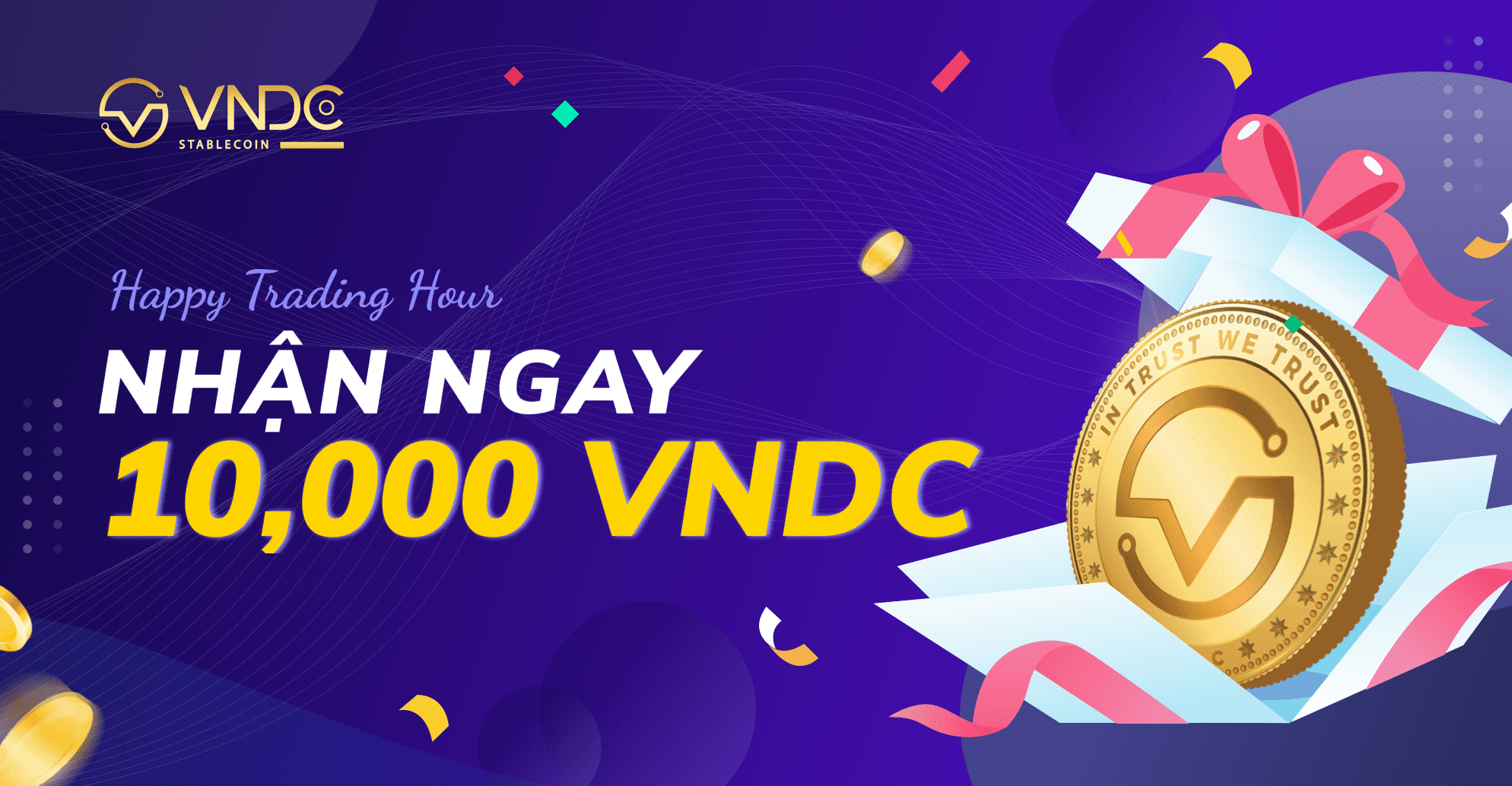 Giao dịch Nami Futures: Nhận ngay 10.000 VNDC mỗi ngày