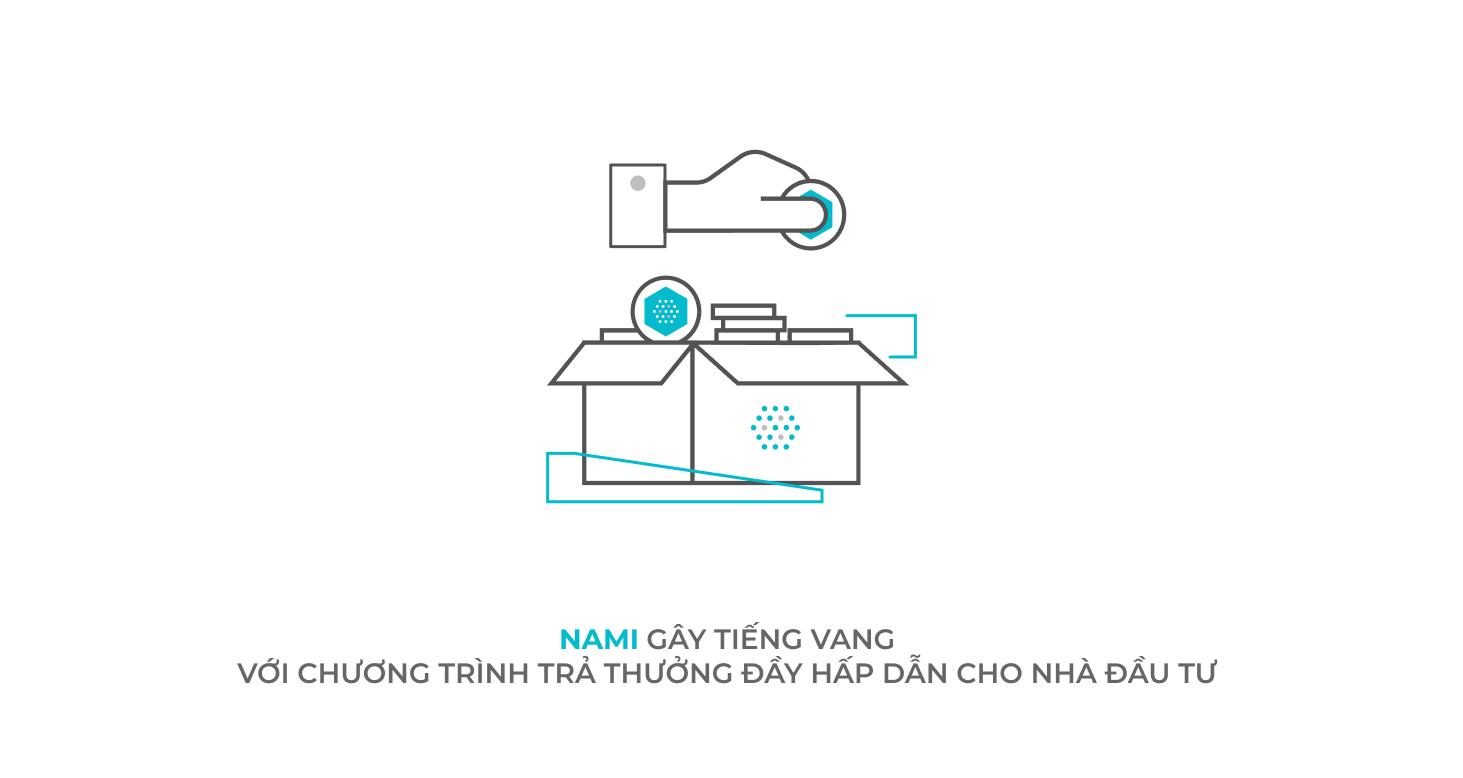 NAMI gây tiếng vang với chương trình trả thưởng đầy hấp dẫn cho nhà đầu tư