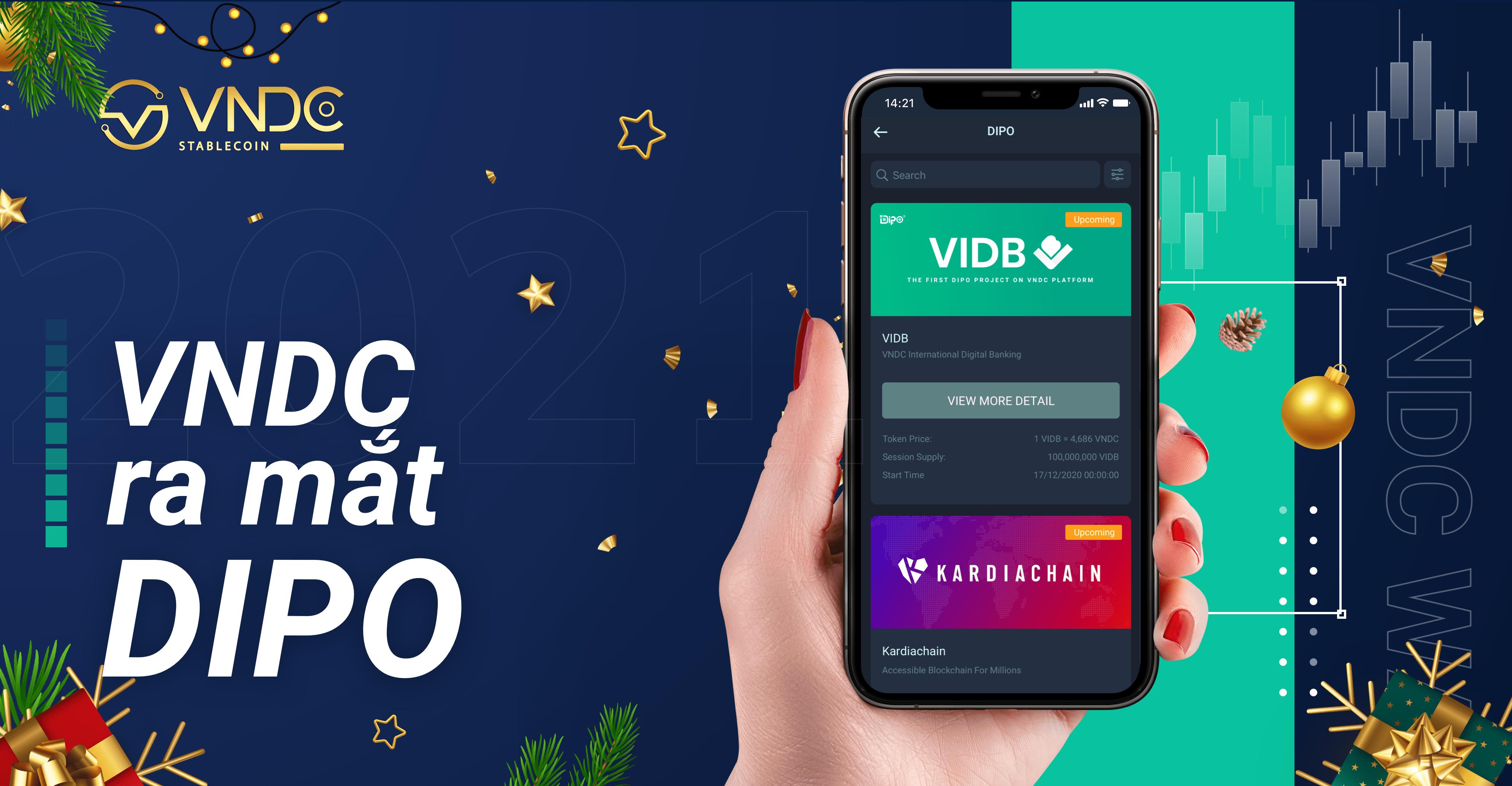 VNDC ra mắt ứng dụng DIPO, hỗ trợ các dự án mới