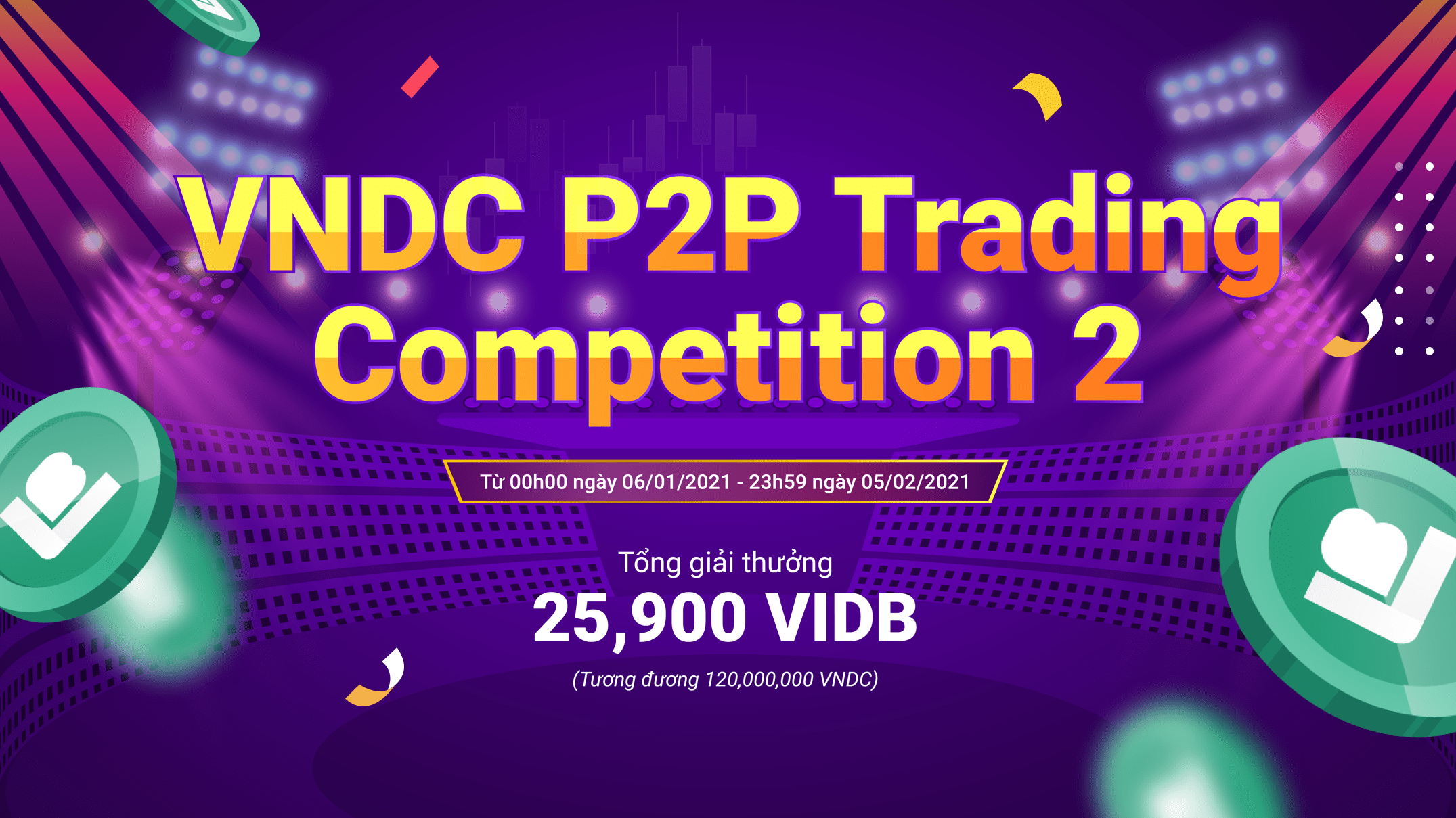 Công bố trao giải P2P Competition 02 Tuần 1
