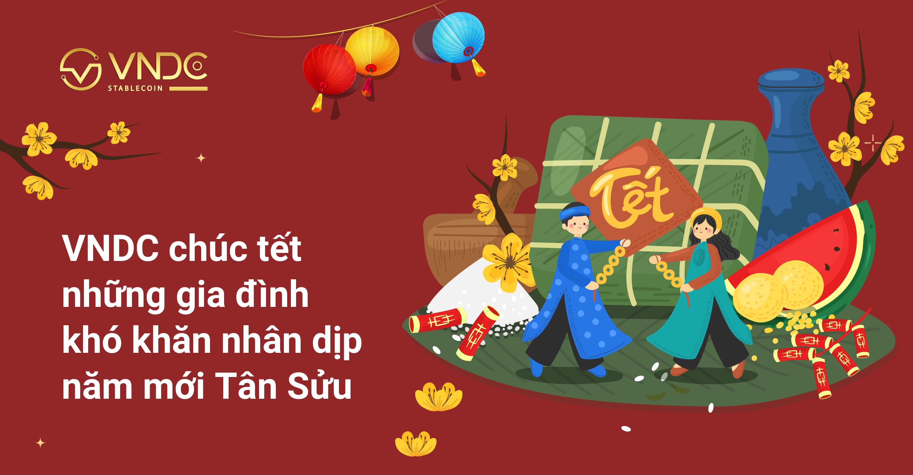 VNDC chúc tết những gia đình khó khăn nhân dịp năm mới Tân Sửu
