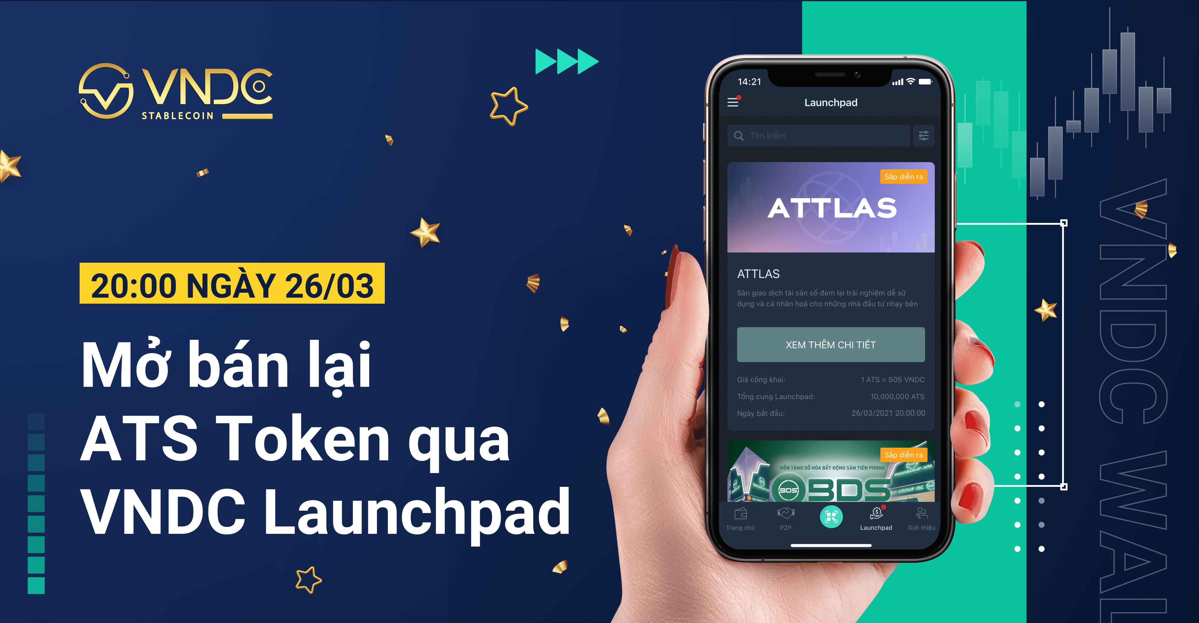 Thông báo: Thay đổi lịch mở bán ATS Token sang ngày 26/03