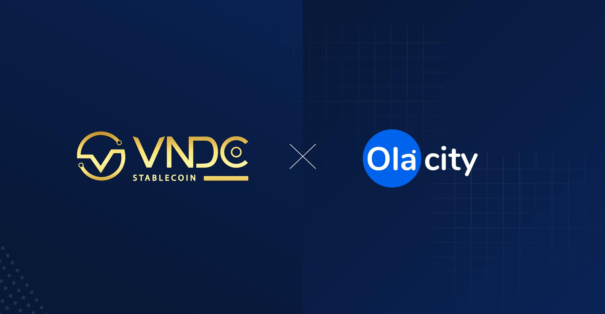 Thông báo về việc hợp tác giữa VNDC và đối tác OlaCity
