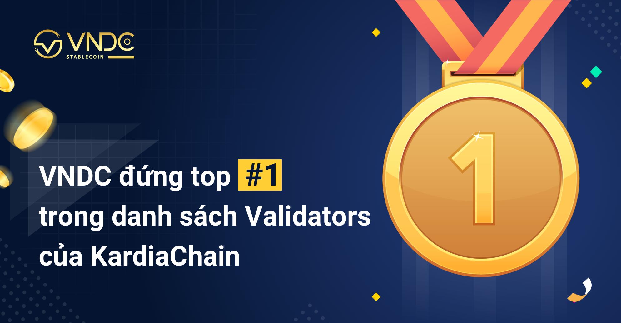 Tặng 100 triệu VNDC cho các Delegators stake KAI tại VNDC Wallet Pro Validator