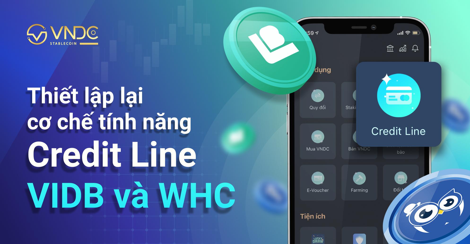 Thông báo: Thiết lập lại cơ chế Credit Line cho VIDB và WHC