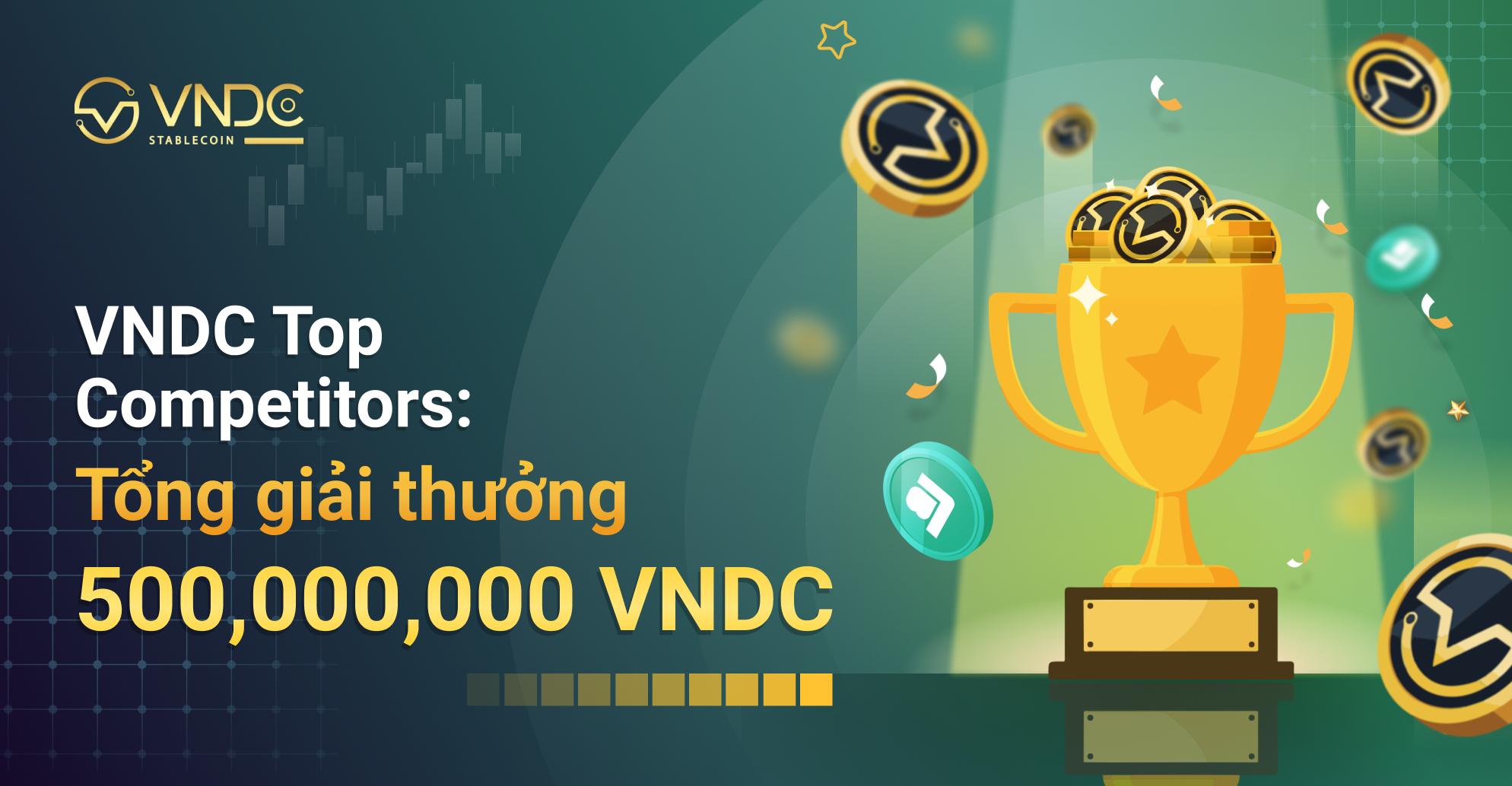 VNDC Top Competitors: Khởi động chuỗi chương trình đua top cùng VNDC