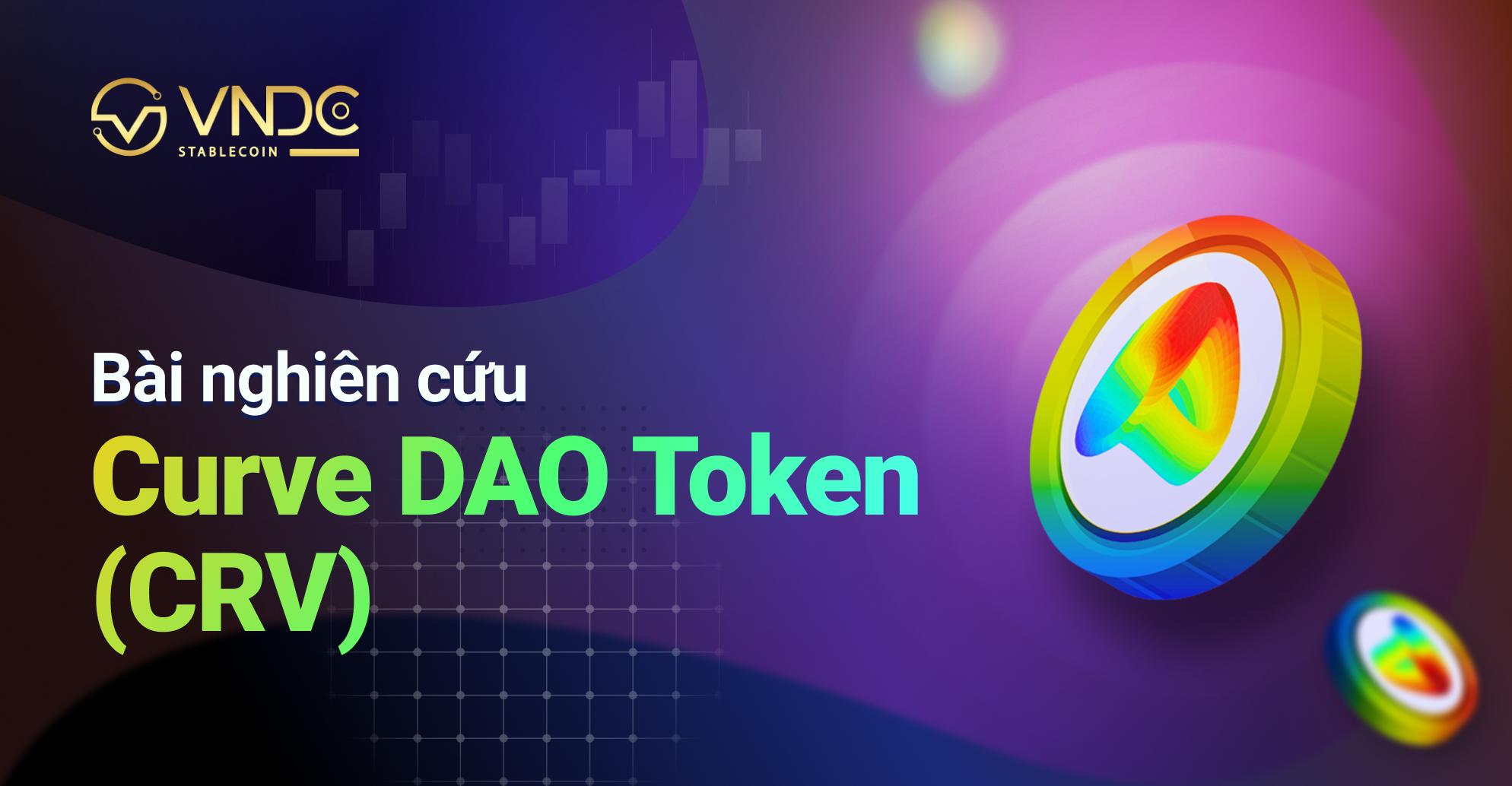 Bài nghiên cứu về Curve DAO Token (CRV)