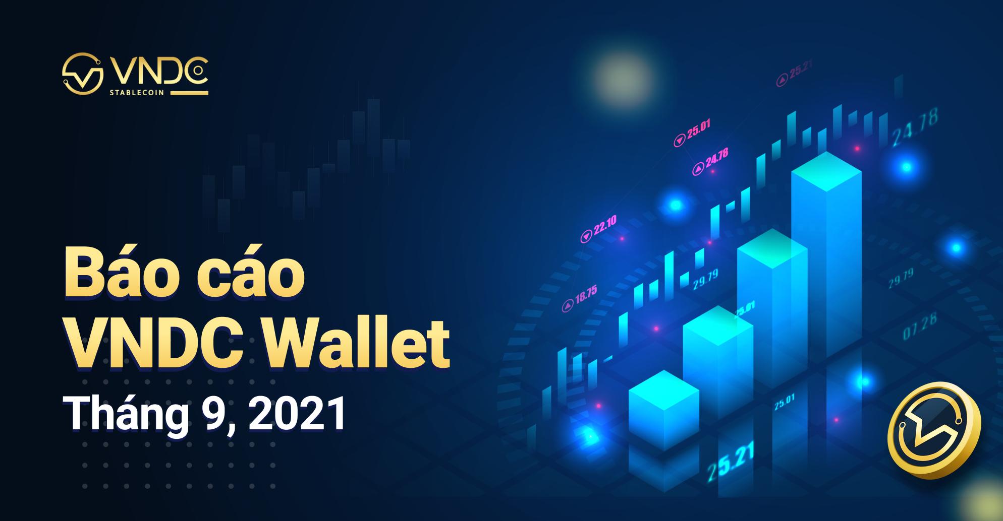 Báo cáo VNDC Wallet tháng 09/2021
